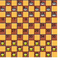 cc4fe6c2175d Sparse Checkers is a variant of regular American Checkers. The rules are  exactly the same as regular checkers. The only differences are in the size  of the ...